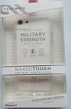 100% AUTHENTIC CASE-MATE NAKED TOUGH CLEAR DUAL LAYER SLIM CASE FOR IPHONE 7, 8