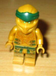 Lego Ninjago Figur - goldener Ninja Lloyd aus 70666