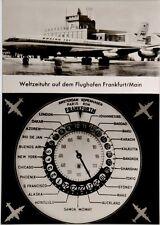Cartolina Aviazione - Aeroporto Di Francoforte - Non Viaggiata