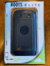 Genuine Leather Back Skin Case for Blackberry Torch 9860 By Roots Elite New