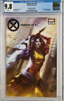 POWERS OF X 1 VARIANT CGC 9.8 PARRILLO TRADE 1ST APP RASPUTIN X-MEN WOLVERINE