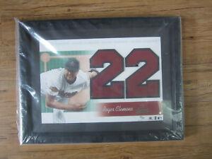 Roger Clemens Upper Deck Collection Houston Astros Framed Jersey Number 41/100