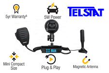 UNIDEN UH5000 5 watt UHF CB RADIO with Plug N Play Kit
