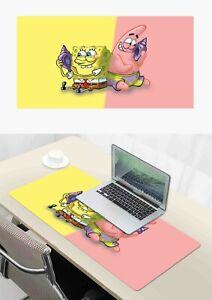 new Spongebob Mouse Pad Laptop Mat Large Size Mousepad