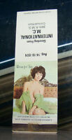 Vintage Matchbook Cover A2 1974 International Matchcover Society Pin Up Girl