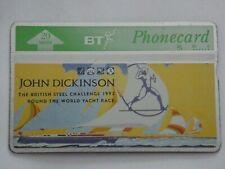 BT PHONECARD   BRITISH STEEL 1992 ROUND THE WORLD YACHT RACE
