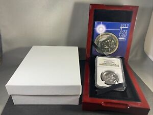 2013 Isle of Man 1 oz Platinum Birth of Christ High Relief Coin PF69 UCAM 1st 50