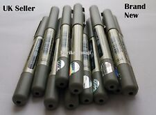 10 UNIBALL EYE FINE UB-157 ROLLER BALL PEN 0.7mm BLACK MITSUBISHI Made in Japan