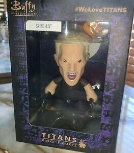 """Buffy the Vampire Slayer Titans Vinyl Figures """" Spike """" 4.5"""" NEW"""