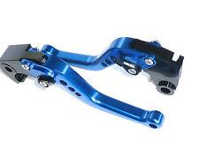 Kawasaki Zx6r 636 2007-2016 Corto Azul Freno Y Embrague Palancas Set Pista De Carreras S15g