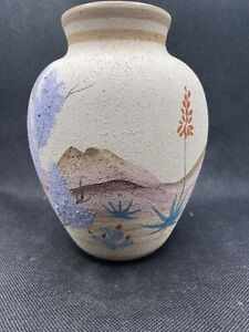 Vintage Mark Bellaire Pottery Limited Edition Vase W/COA Signed 44/90