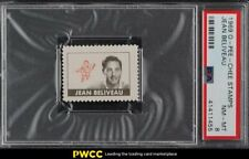 1969 O-Pee-Chee Stamps Hockey Jean Beliveau PSA 8 NM-MT