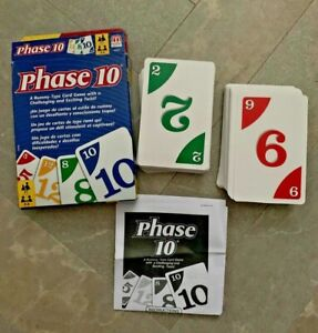 PHASE 10 A RUMMY TYPE CARD GAME WITH A CHALLENGING & EXCITING TWIST  UNO