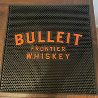 NEW Authentic Bulleit Bourbon Whiskey Whisky Bar Spill Mat 16.5x16.5""