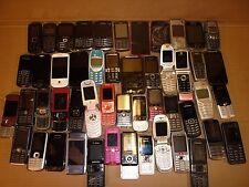 JOB LOT 50 MOBILE PHONES SONY HTC MOTOROLA BLACKBERRY PHILIPS NOKIA SAMSUNG LG