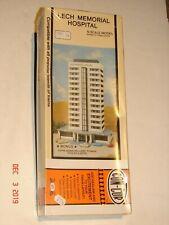 Vintage CON-COR N Scale Model LECH MEMORIAL HOSPITAL Denmark *SEALED NEW*