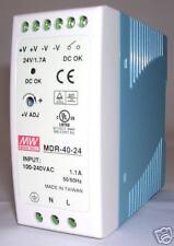 40W Single Output 24V Industrial DIN Rail Power Supply MDR-40- 24V