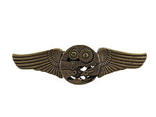 Gears Wing Pilot Pin Victorian Steampunk Adult Halloween Costume Accessory
