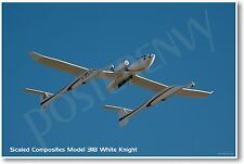 Scaled Composites Model 318 White Knight - NEW Aircraft POSTER