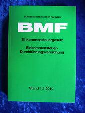 """""""BMF - Einkommensteuergesetz, Einkommensteuer-Durchführungsverordnung"""""""