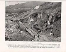 1897 Victorien Imprimé~ or Laver Yale Britanique Columbia~ Livre Text