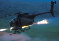 AH-6-G Little Bird MD MH-6 AH-6 AH 6 Helicopter Kiln Dry Wood Model Small New
