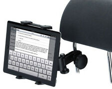 Car Headrest Mount/ Mic stand Holder for iPad Galaxy Tab Nexus Tablet PC Deluxe
