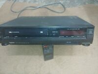 Symphonic 7100 VCR VHS 4-Head Video Cassette Recorder Movie Player PARTS ONLY