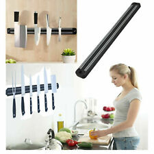 Magnetic Knife Holder Wall Bar Tool Storage Organizer Rack Strip Stainless Steel