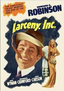 Larceny, Inc. [New DVD]