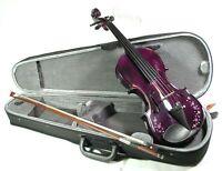 """Neu! Geige Violine """"flower power"""" komplette Garnitur!"""