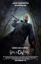 Halloween movie poster (b) (2018)  - 11 x 17 inches - Jamie Lee Curtis