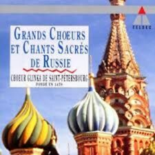 Russia Sings - Glinka Choir of Leningrad - Grands Chœurs & Chants Sacrés Russes.