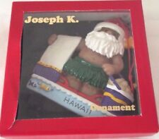 Joseph K. & Company Christmas Ornament, Santa Clause with Beach Towel & Bucket