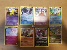 8 x Furious Fists Rare Pokemon Card No doubles #838
