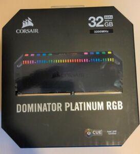 32GB Corsair Dominator Platinum RGB Series 3200MHz CL16 DDR4 Quad Memory 4x8GB
