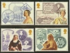 Gb Mnh Scott 1188-1191, 1987 Accession of Queen Victoria, complete set of 4