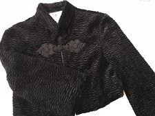 Kenzie Faux Lamb Bolero Jacket size 6