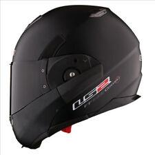 LS2 FF393 CONVERT Flip Up Motorbike Motorcycle Helmet Matt Black XS (53-54CM)