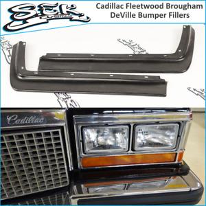 1980-1989 Cadillac Fleetwood Brougham/ DeVille Front Headlight Bumper Fillers