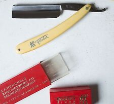 Friodur Inox 14 Straight Razor Henckels Solingen Zwillingswerk Shave Ready