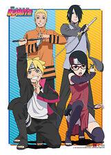 Naruto Boruto Group Wall Scroll Poster NEW