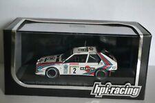 miniature lancia delta S4 n°2 1986 sanremo hpi-racing au 1/43-P9.52