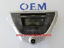 2011-2013 Hyundai Elantra Genuine AM FM CD MP3 XM Radio Player Face Panel NEW