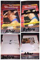 1985 OPC TOPPS WWF PRO WRESTLING STARS EMPTY DISPLAY wax BOX shrink wrapped