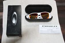 Óculos De Sol Oakley Targetline OO9397-0358 Prizm Branco Fosco Lente Rubi  9397 0358 82db1d9538