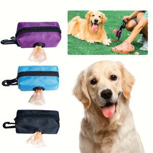 Dog Poop Bag Dispenser Pet Waste Poo Holder Pick Up Case BT