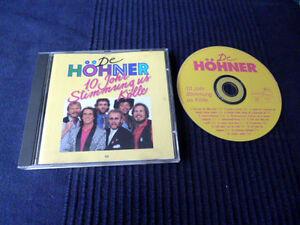 CD De Höhner - 10 Johr Stimmumg Us Kölle 1978-1986 | 14 Lieder Karneval Köln EMI