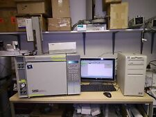 HP/AGILENT 5890 GC WITH SPLIT AND PACKED INJ FID/TCD CHEMSTATION DATA SYSTEM