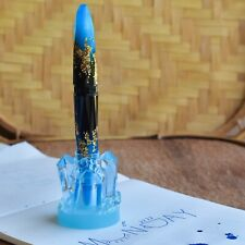 BENU Luminous Blue Fountain Pen Stand